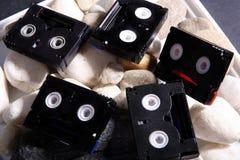 Mini bandes de DV Photo stock