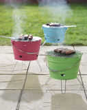 Mini barbecues Royalty Free Stock Photography