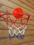 Mini basketball Stock Photography