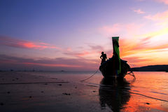 Mini bateau Image libre de droits