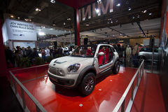 MINI Beachcomber concept car at 2010 Autoshow Royalty Free Stock Image