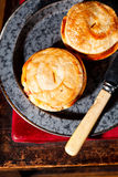 Mini beef pies Stock Photos