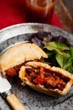 Mini beef pies Stock Photography