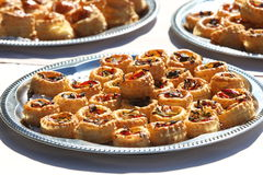Mini beef pies Royalty Free Stock Photos