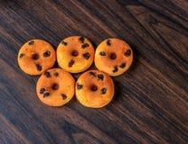 Mini beignet Photographie stock libre de droits