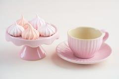 Mini beijos de merengue Imagem de Stock