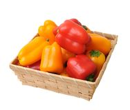 Mini bell pepper stock image