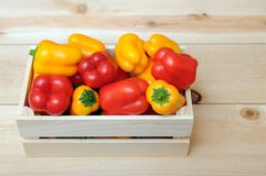 Mini bell peppers Royalty Free Stock Photo