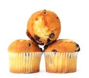 Mini berry muffins Stock Photography