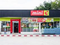 Mini Big C ist ein Mini-Markt Lizenzfreie Stockbilder
