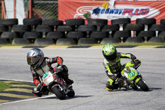 Mini Bike Championship Action Stock Photos