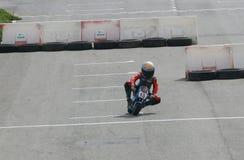 Mini bikes racing circuit Royalty Free Stock Image