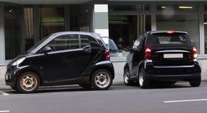 Mini- bilar Arkivfoto