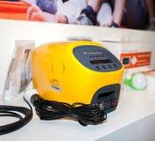 Mini boîte de contrôle électrique Images stock