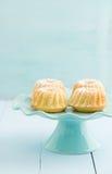 Mini bolos do bundt imagens de stock royalty free