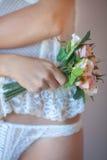Mini bouquet Stock Photo