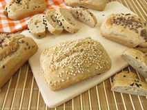 Mini Breads Royalty Free Stock Photography