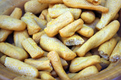 Mini breadsticks Royalty Free Stock Photography