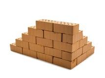 Mini brick wall Royalty Free Stock Images