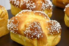 Mini Brioche Bread Loaves Royalty Free Stock Image