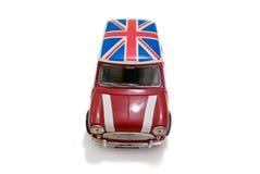 Mini BRITÂNICO vermelho Imagens de Stock Royalty Free