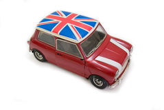 Mini BRITANNIQUE rouge Photos stock
