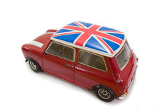 Mini BRITANNIQUE rouge Photographie stock libre de droits