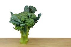 Mini Broccoli en witte achtergrond stock afbeeldingen
