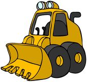 Mini Bulldozer Stock Photography