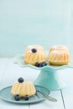 Mini bundtcakes Royalty-vrije Stock Afbeeldingen