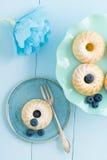 Mini bundtcakes Royalty-vrije Stock Foto's