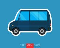 Mini Bus Royaltyfri Bild