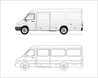 Mini bus Stock Photography