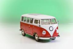 Mini bus dell'annata Fotografie Stock Libere da Diritti