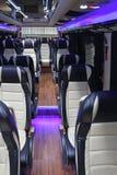 Mini Bus Interior immagini stock