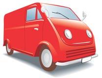 Mini Buss - ModelAuto. Hobby, inzameling Royalty-vrije Stock Fotografie