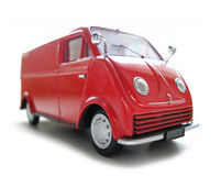 Mini Buss - ModelAuto. Hobby, inzameling Stock Fotografie