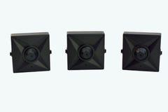 Mini cámaras de vigilancia Fotos de archivo