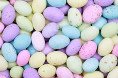 Mini Cętkowani Wielkanocni Jajka Fotografia Stock