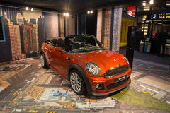 Mini Cabrio Royalty Free Stock Image