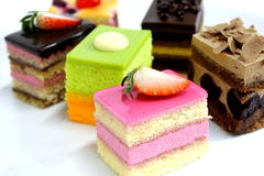 Mini cake delicious Royalty Free Stock Photography