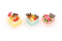 Mini cake model Royalty Free Stock Photo