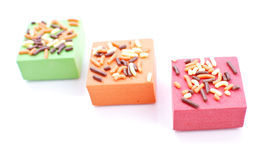 Mini Cake Treats Royalty Free Stock Image
