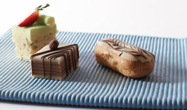 Mini cakes Royalty Free Stock Image