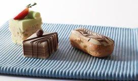 Mini cakes Royalty Free Stock Image