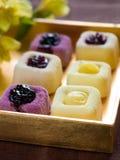 Mini cakes royalty free stock photography