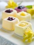 Mini cakes royalty free stock photos
