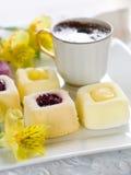 Mini cakes stock images