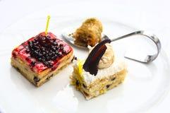 Mini cakes Stock Photography