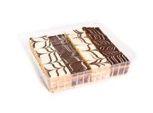 Mini cakes Stock Photos